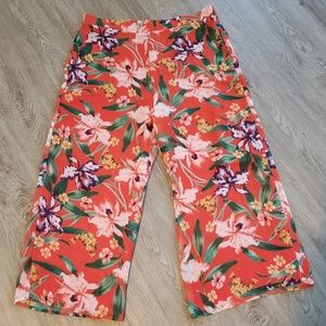 Nwt New York & co. Wide leg pants size large